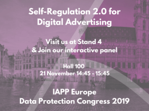 IAPP Panel – Self-Regulation 2.0 for Digital Advertising
