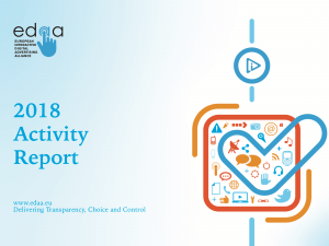 EDAA releases its 2018 Activity Report
