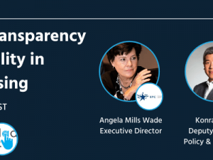 Webinar: Transparency and Responsibility in Digital Advertising – On Demand